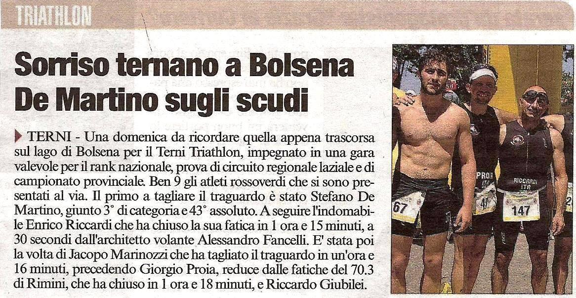 corriere dell'umbria 11 giugno 2014